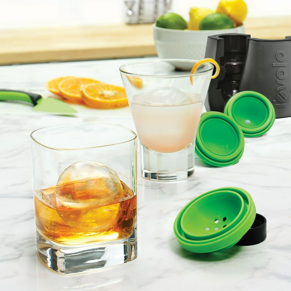 tovolo sphere ice molds instructions