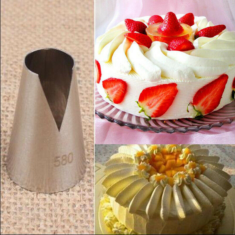 Cake Decorating Latest Techniques : Flower Icing Piping Tips New Nozzle Cake Cupcake ...