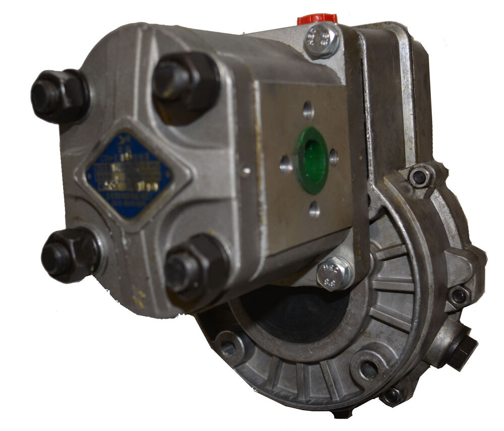 Hydraulic Drive Gearboxes : Hydraulic gear pump series with gearbox tractor drive