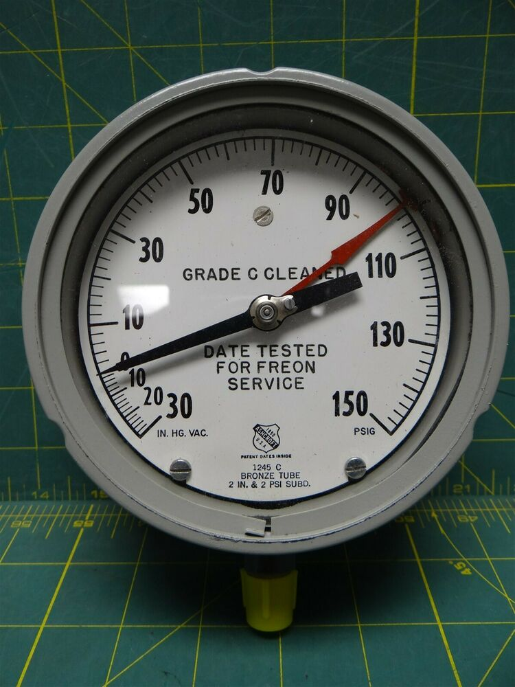 Ashcroft Compound Gauges : Ashcroft abg compound pressure vacuum gauge