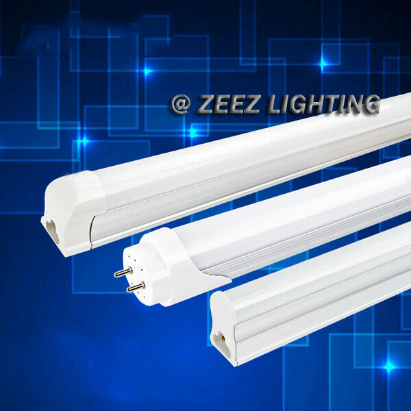 T8 Light Fixture 2ft: T5/T8 White LED Linear Tube Light Bulb 2FT/3FT/4FT
