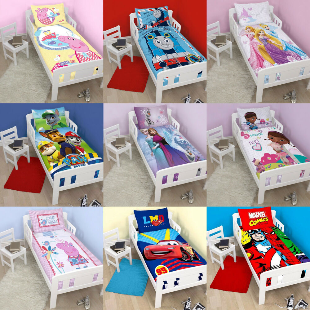 NEW BOYS Amp GIRLS JUNIOR COT BED BEDDING SETS