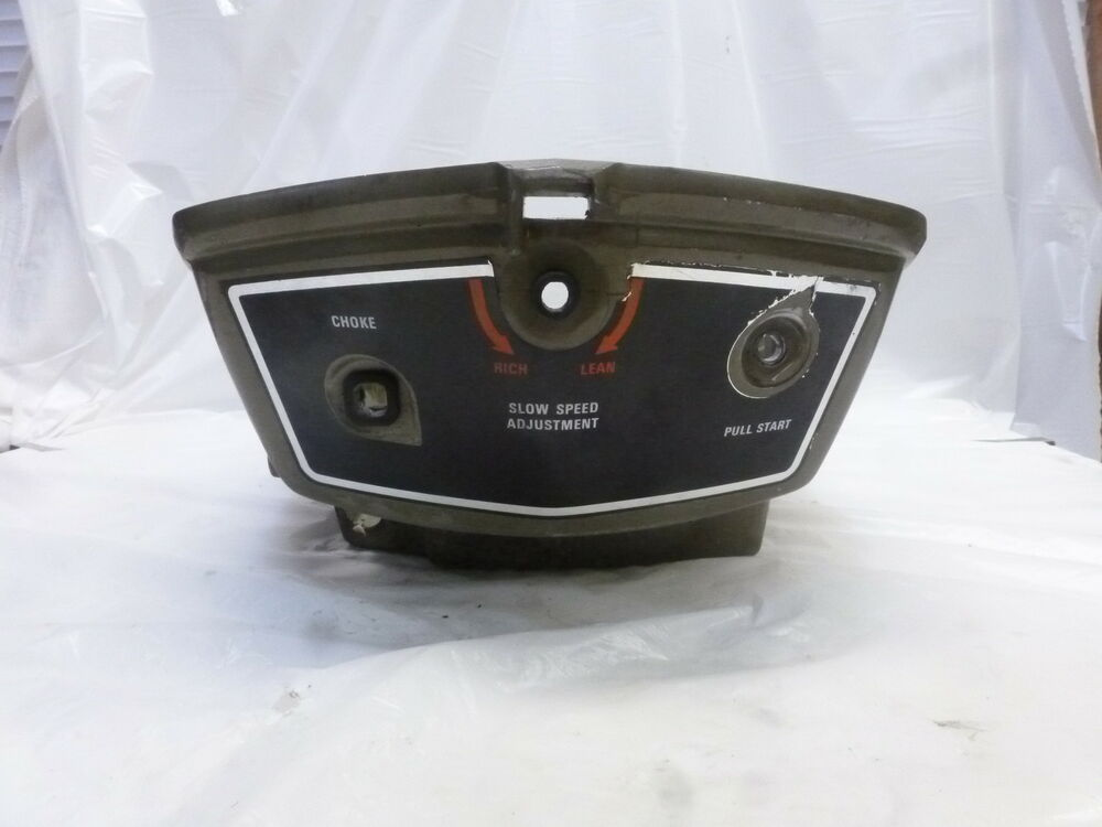 1975 Johnson 6r75r 6hp Lower Cover Assembly 387568