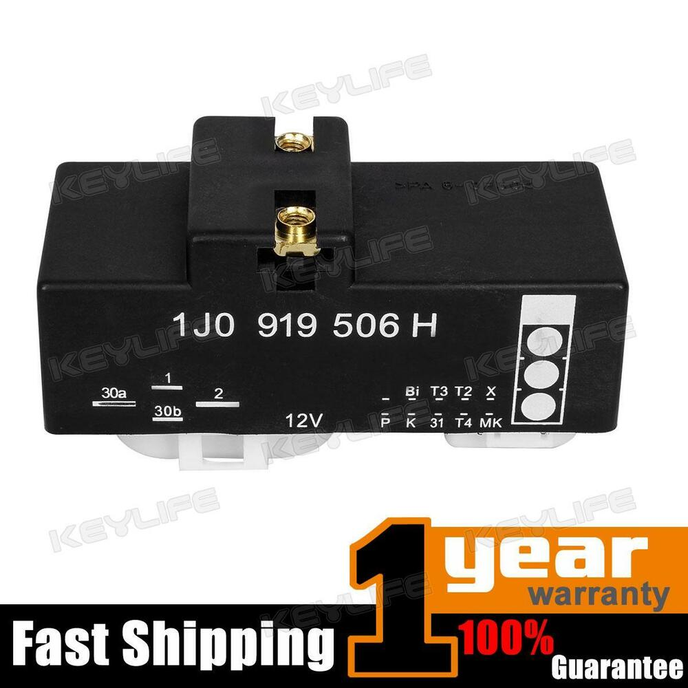 1j0919506h Cooling Fan Control Unit Module Relay For 1999