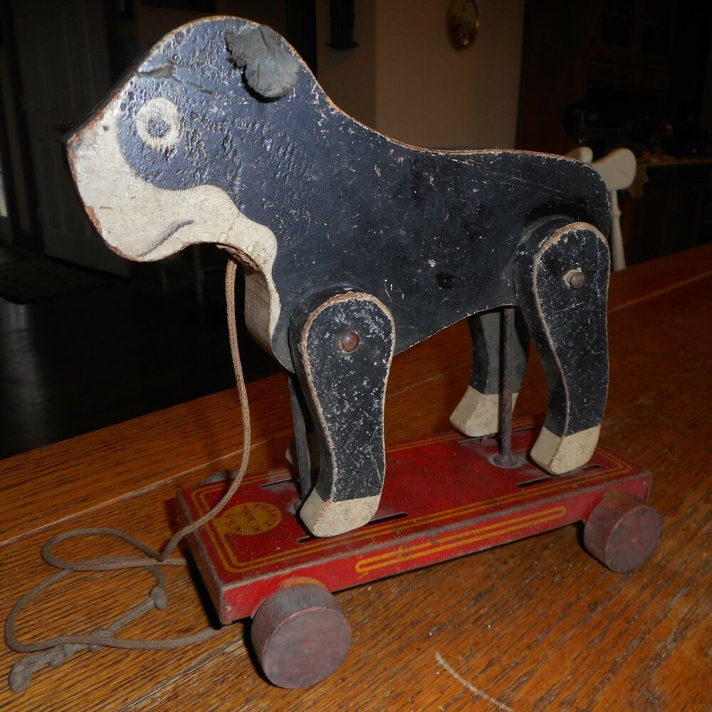 Dog With Wheels Toy