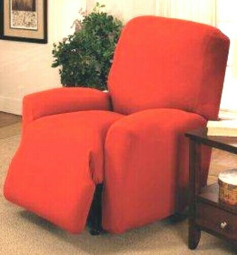 jersey recliner cover lazy boy red stretches visit ou
