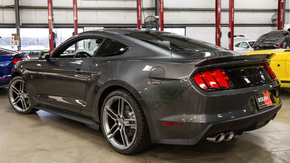 2015 2019 Ford Mustang Coupe Roush 421888 Rear Spoiler