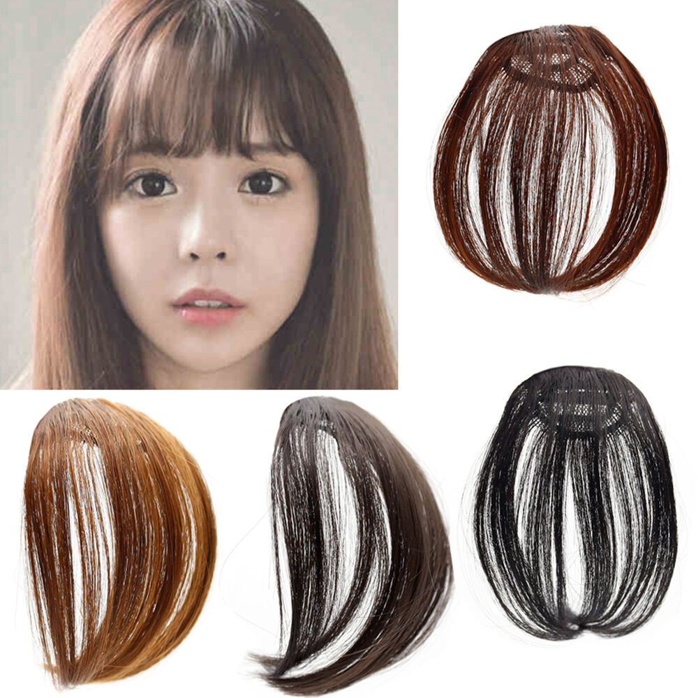 Fashion Style Clip In Straight Front Hair Bang Fringe Hair