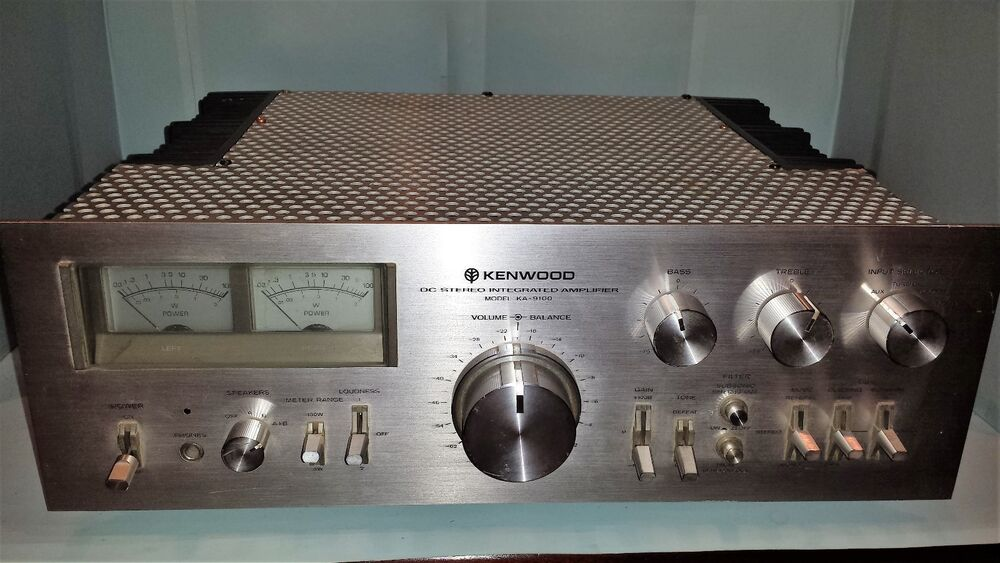 kenwood ka 9100 amplifier ebay. Black Bedroom Furniture Sets. Home Design Ideas