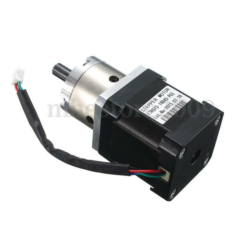 New extruder gear stepper motor ratio 5 1 planetary for Stepper motor gear box