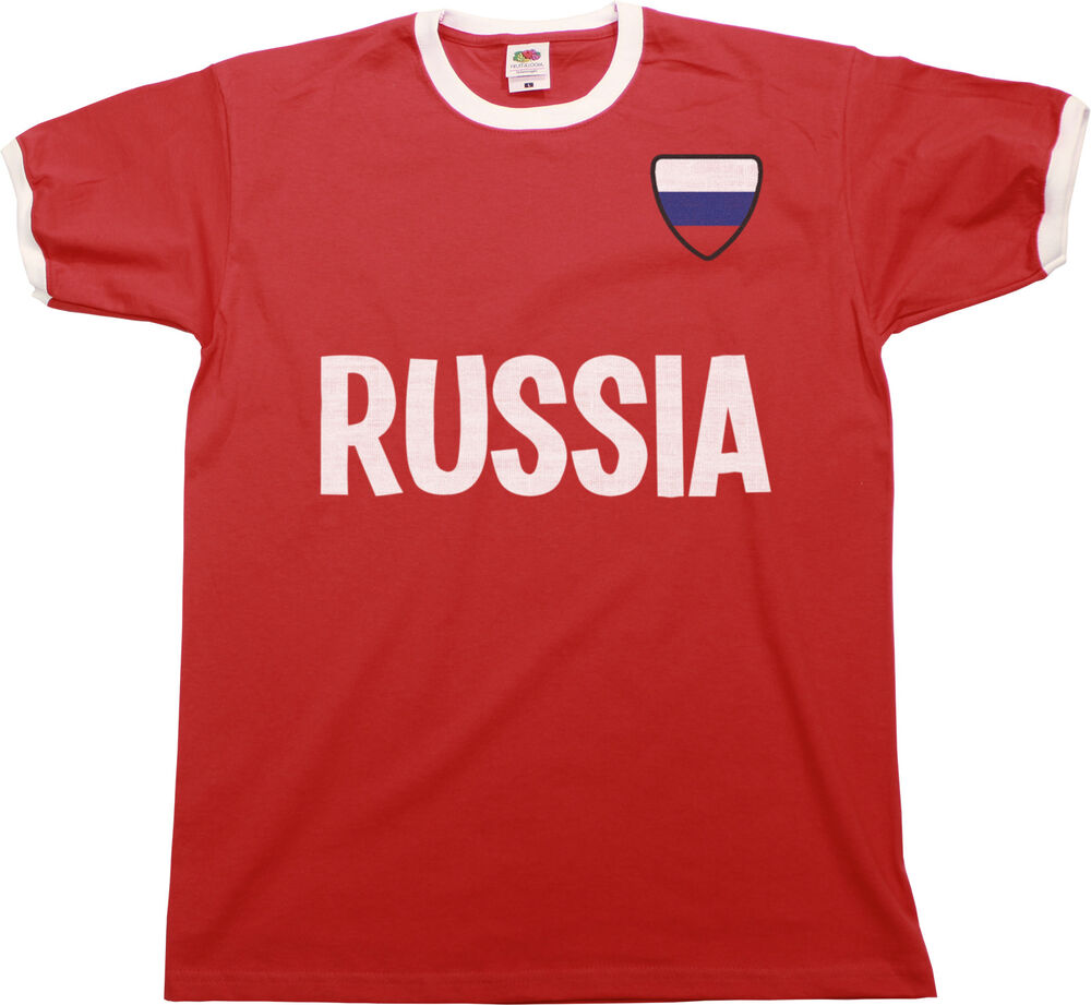 Mens t shirt russia world cup 2018 russia football country for Spain t shirt football