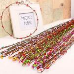 10Pcs/Lot Artificial Beads Branches Flower Stamen For Home Wedding Party Decor