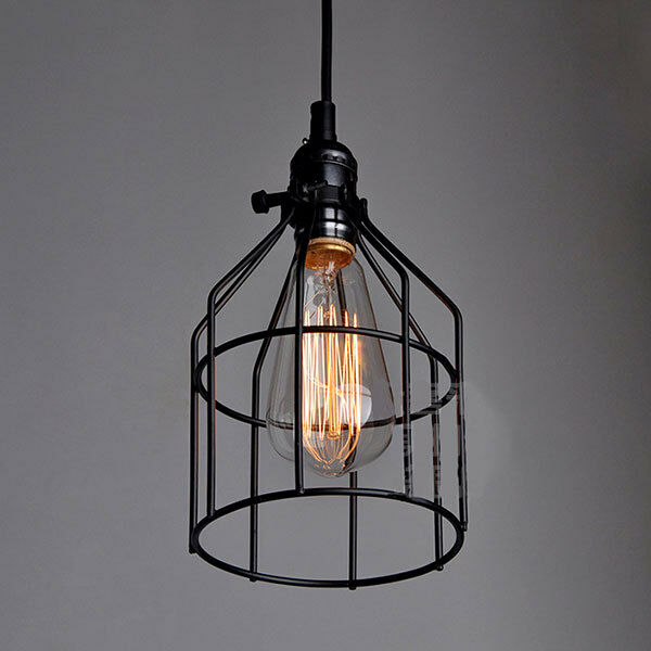 Industrial Rustic Style Loft Metal Ceiling Fixture Light