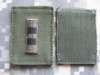 US ARMY PATCH CHIEF WARRANT OFFICER CWO-2 2 PIECES HOOK & LOOP
