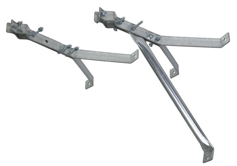 Tv Antenna Mast Bracket 18 Quot Inch Standoff Y Style Wall