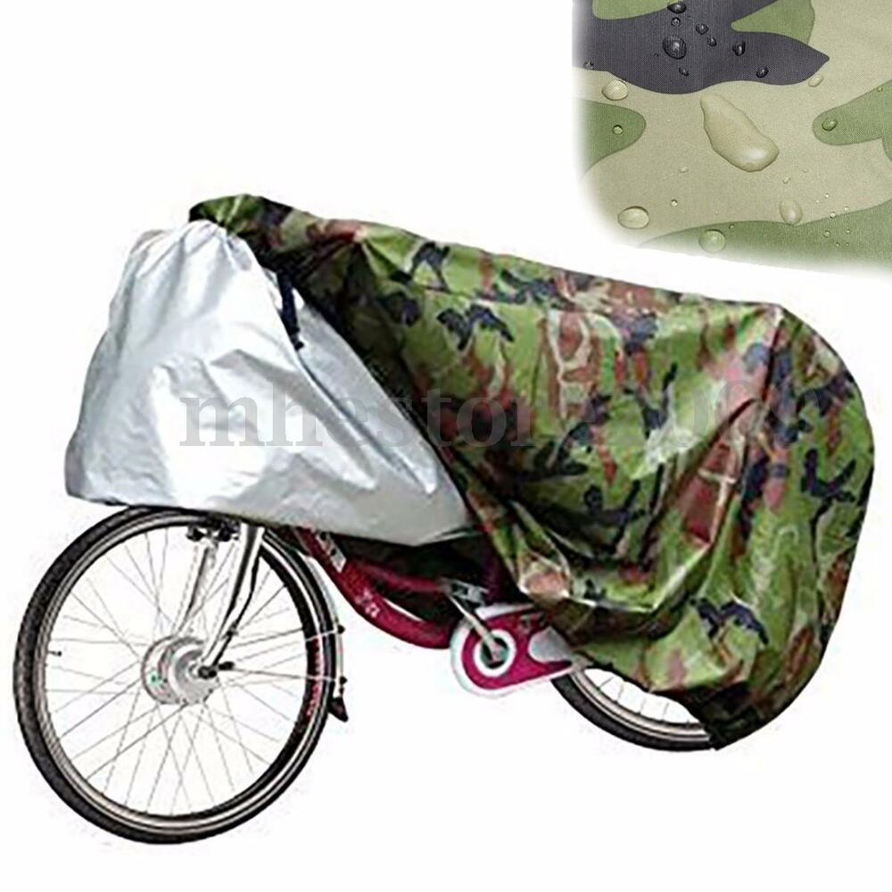 Waterproof bike bicycle cycling rain cover dust garage Outdoor bicycle