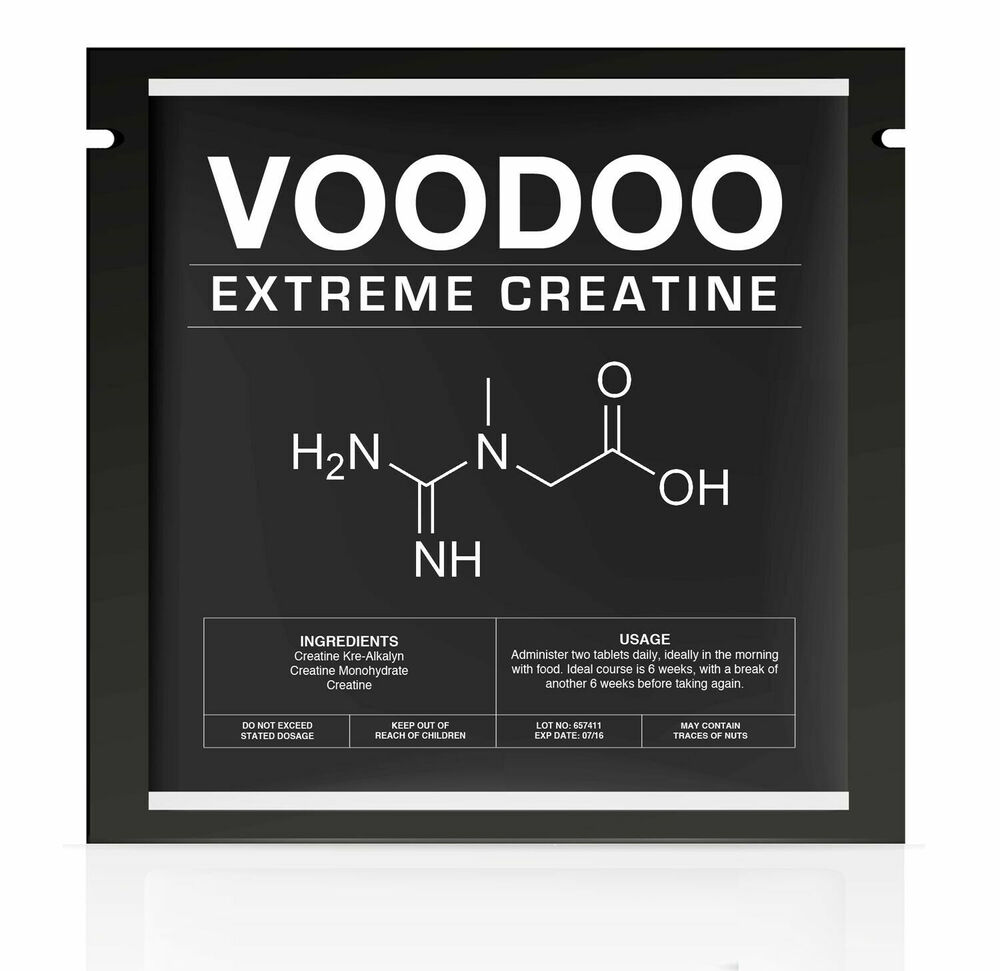 Voodoo The Strongest Legal Creatine For Extreme Muscle Monohydrate