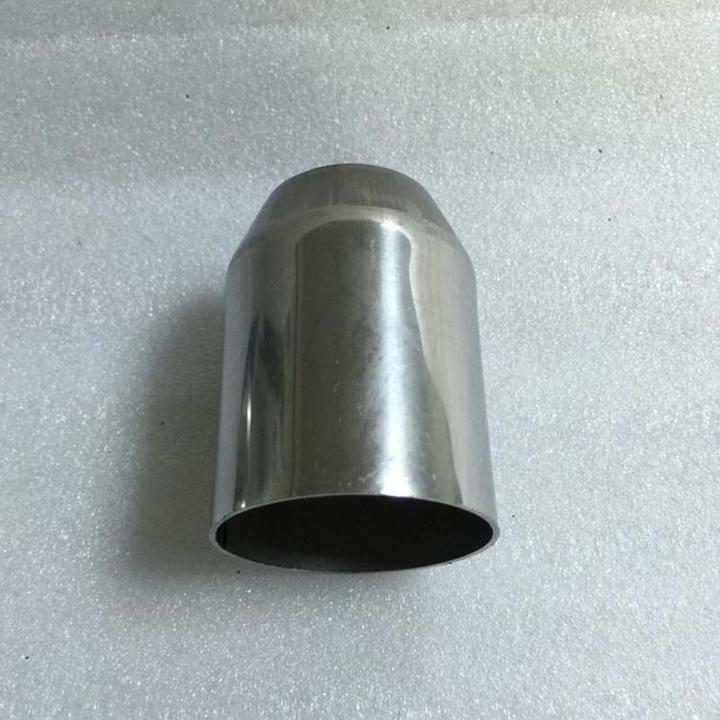 Exhaust pipe reducer connector adapter quot t