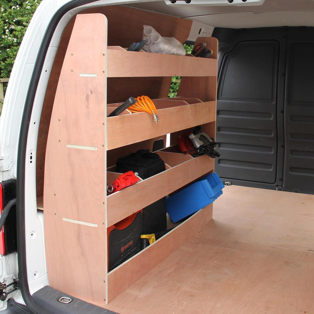 Vw Caddy Swb Van Racking Plywood Tool Storage Van Shelves