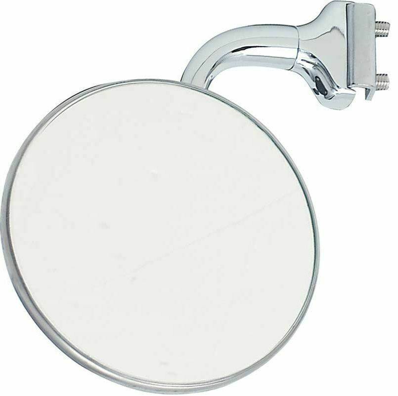 4 convex curved arm peep mirror outside side door frame for Outside side door