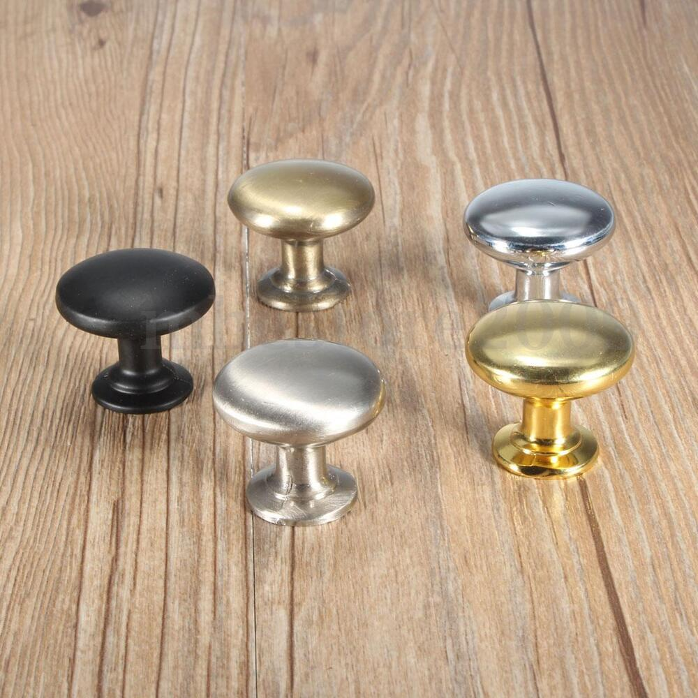 Kitchen Cabinet Drawer Pulls And Knobs: 30mm Round Cupboard Kitchen Drawer Furniture Cabinet Door