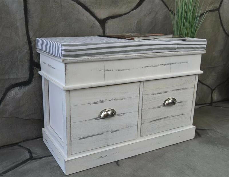flurbank sitzbank schuhbank landaus shabby chic vintage. Black Bedroom Furniture Sets. Home Design Ideas