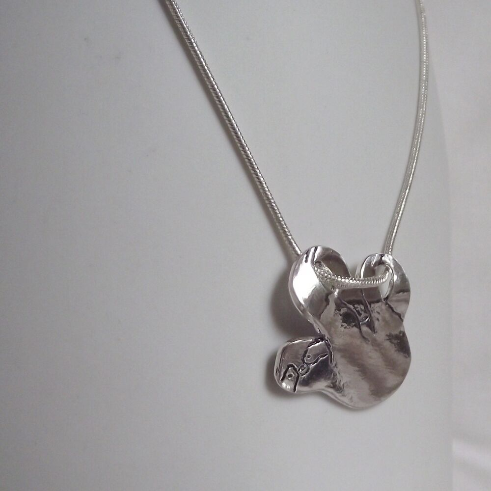 sterling com sloth pendant product silver elmharris simple