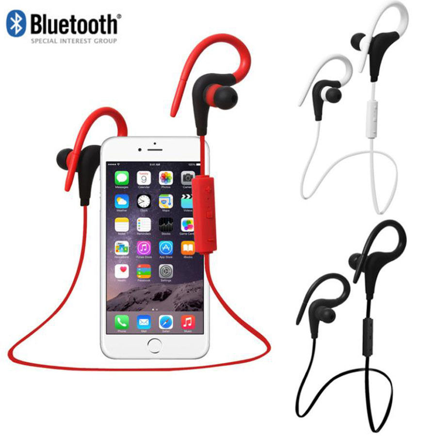 waterproof bluetooth wireless sports stereo headset. Black Bedroom Furniture Sets. Home Design Ideas