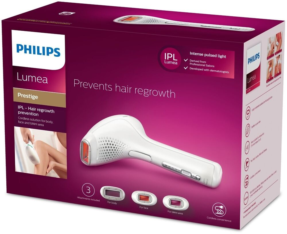 philips laser hair removal machine