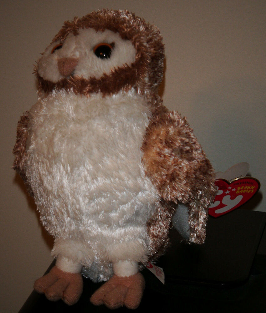 Ty Beanie Baby Soren The Owl Legend Of The Guardians