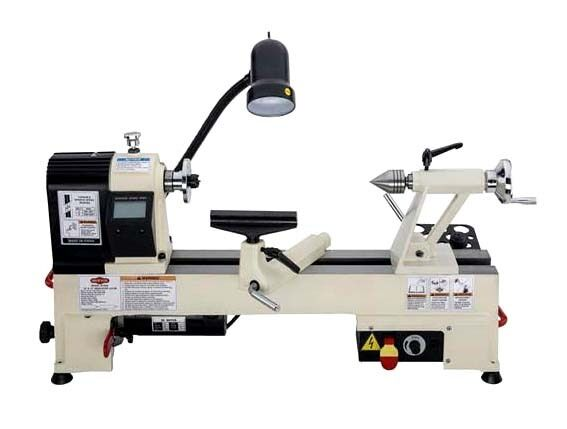 Shop Fox Benchtop Wood Lathe 12 X 15 3 4 Hp Evs Drive 500 3800 Rpm W1836 New Ebay