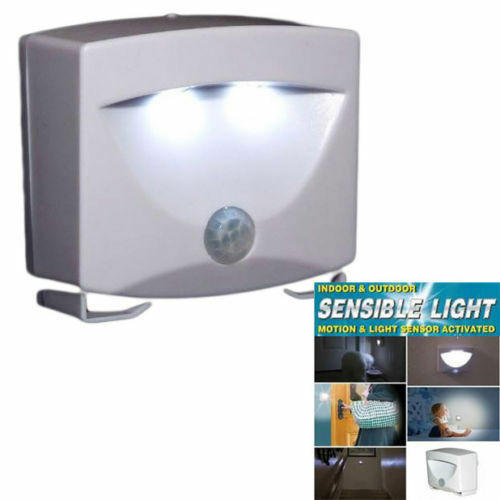 Sensible Motion Sensor Light Outdoor Indoor Security Cordless Night Lamp Ebay