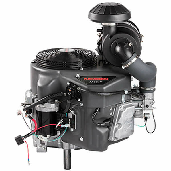 V Twin Quad Engine: 726cc 22HP V-Twin Electric Start
