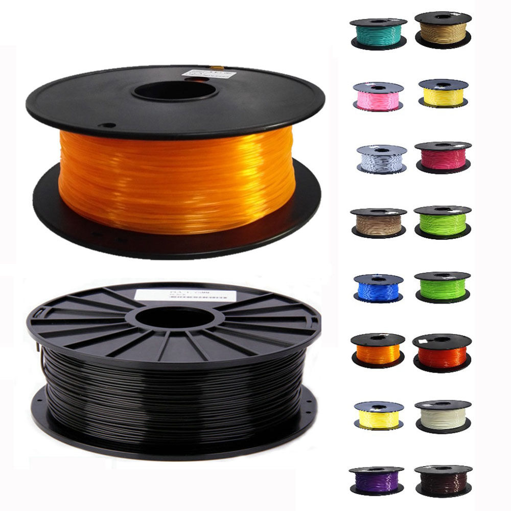 1 10m roll 3mm abs pla filament for 3d printer drawing pen makerbot reprap ebay. Black Bedroom Furniture Sets. Home Design Ideas