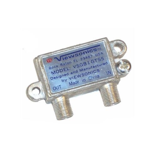 Screw In Coaxial Cable Protector : Coaxial cable tv surge protector ground block grounding