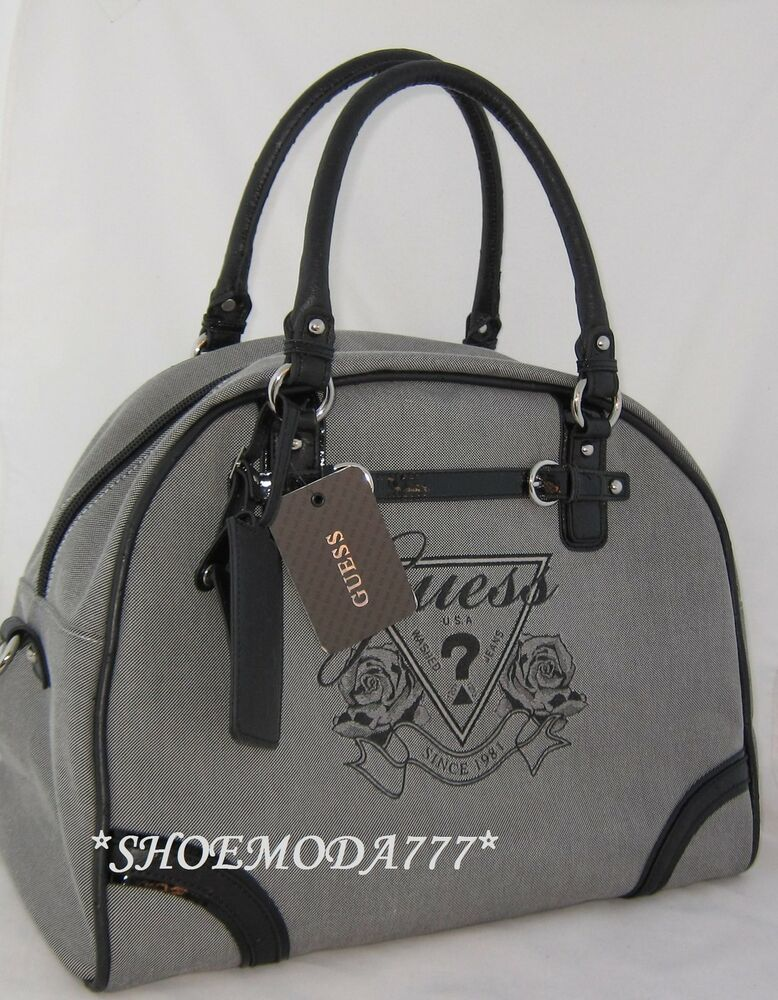 Guess Avignon Dome Travel Tote Carry On Luggage Shoulder