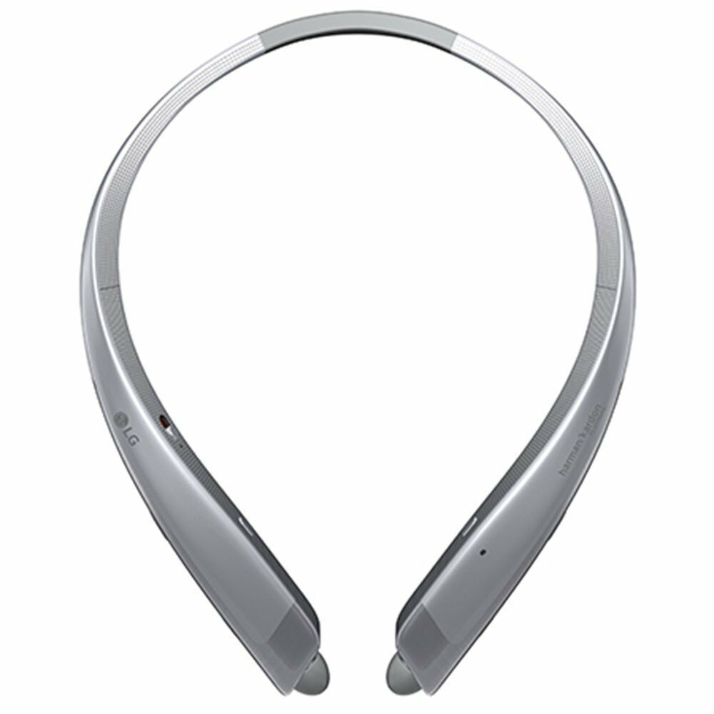 LG Noise Cancelling Bluetooth Stereo Headset HBS-1100,Silver-Intern. Version