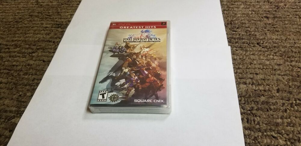 Final Fantasy Tactics Psx manual