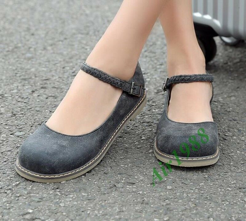 Ankle Flat Shoes Womens