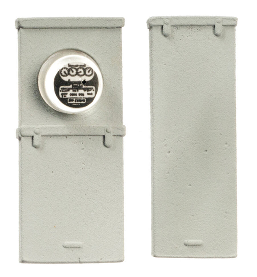 Dollhouse Miniature 1 12 Scale Electric Meter Fuse Box