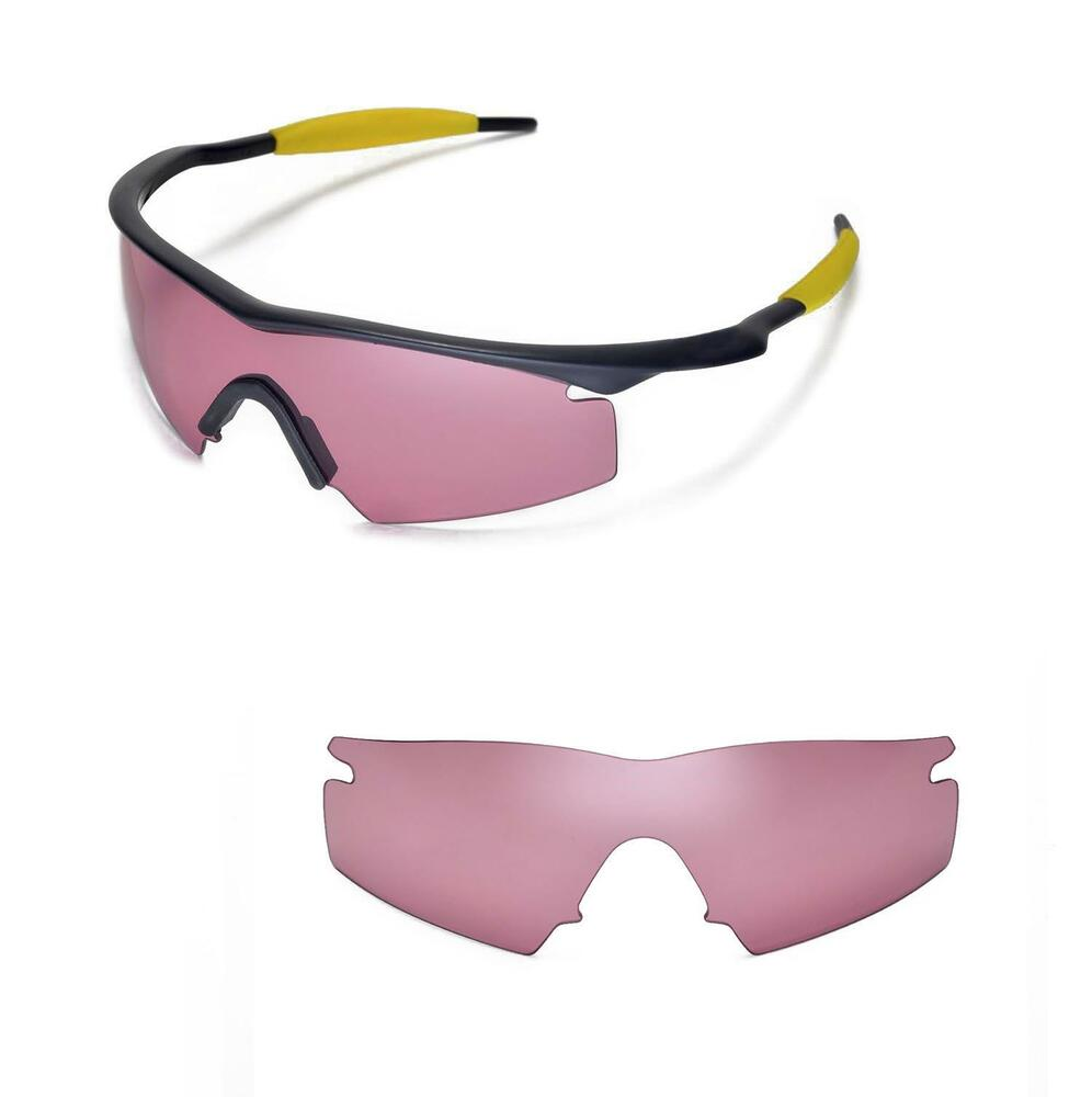 New Walleva Pink Replacement Lenses For Oakley M Frame ...