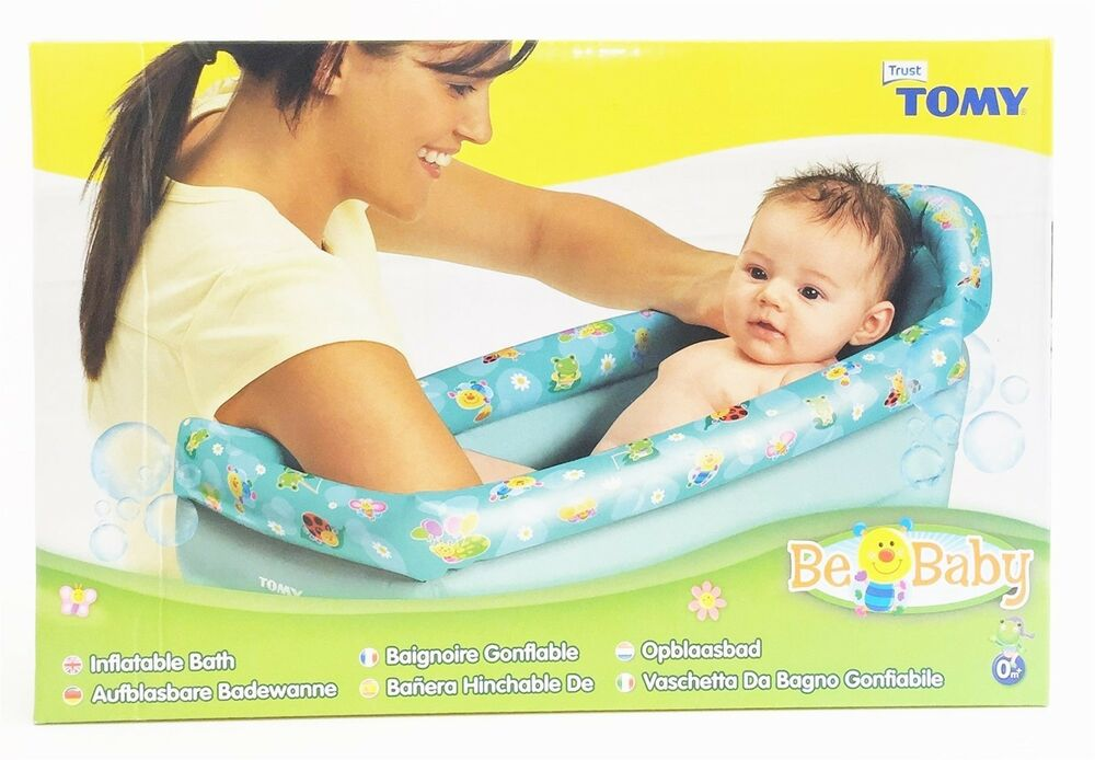 tomy 71726 be baby inflatable travel bath from birth 0 months ebay. Black Bedroom Furniture Sets. Home Design Ideas