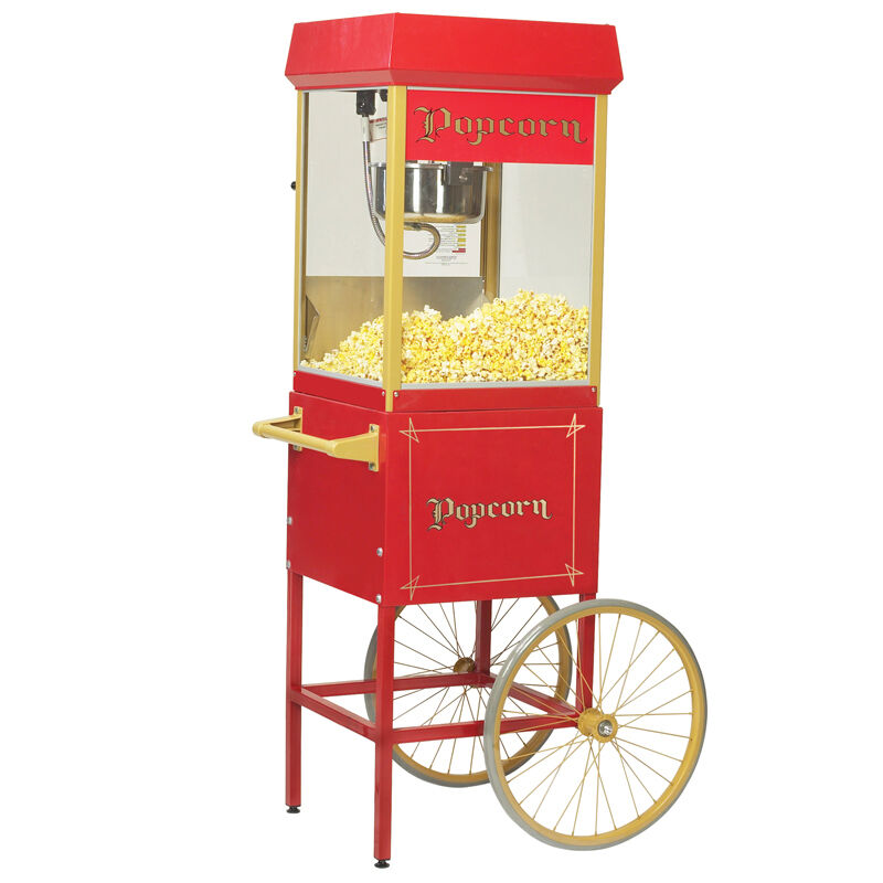 Gold Medal 2408 FunPop Popcorn Popper Machine with Cart ...