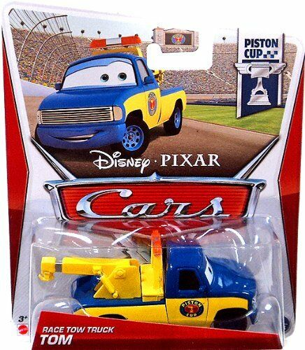 Cars 3 Characters Names >> DISNEY PIXAR CARS RACE TOW TRUCK TOM #2 PISTON CUP *NEW ...