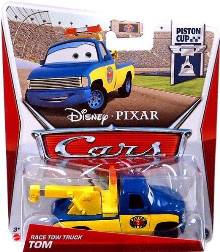 DISNEY PIXAR CARS RACE TOW TRUCK TOM #2 PISTON CUP *NEW