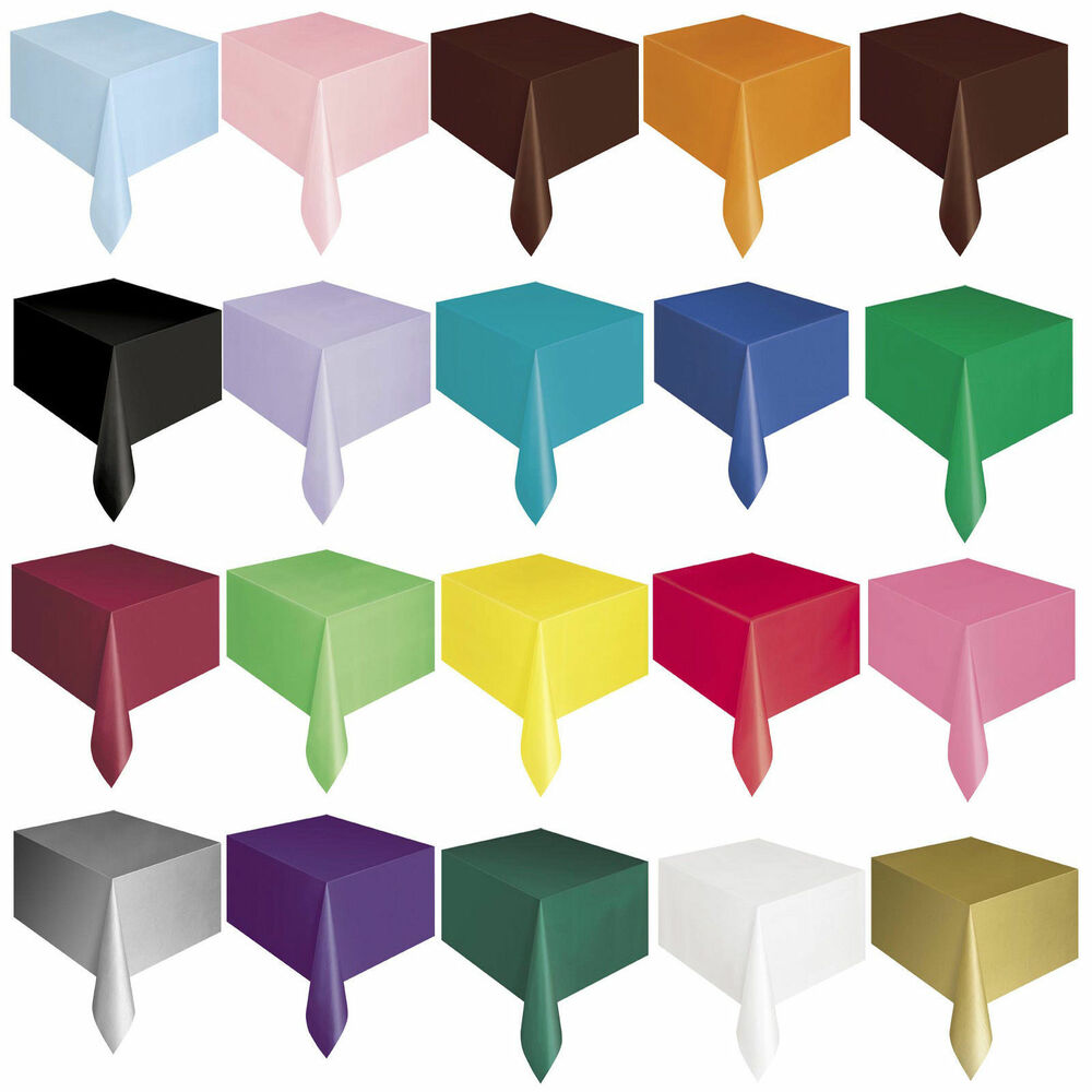 plastic tablecovers party table cloth cloths rectangle. Black Bedroom Furniture Sets. Home Design Ideas