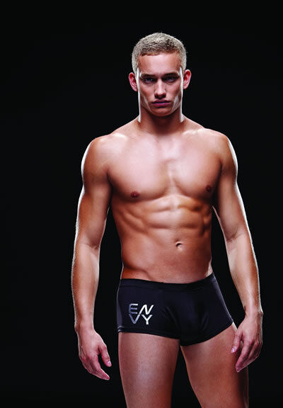 MEN'S UNDERWEAR Logo Sport Trunk, Style #BLE027; Medium ...