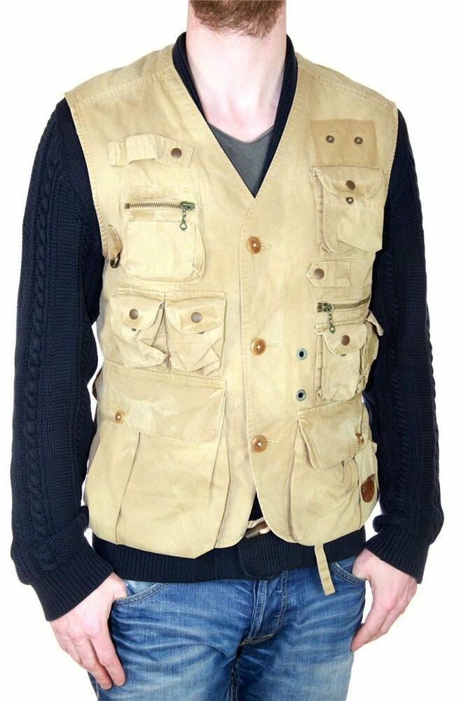 polo by ralph lauren men 39 s vest fishing hunting army. Black Bedroom Furniture Sets. Home Design Ideas