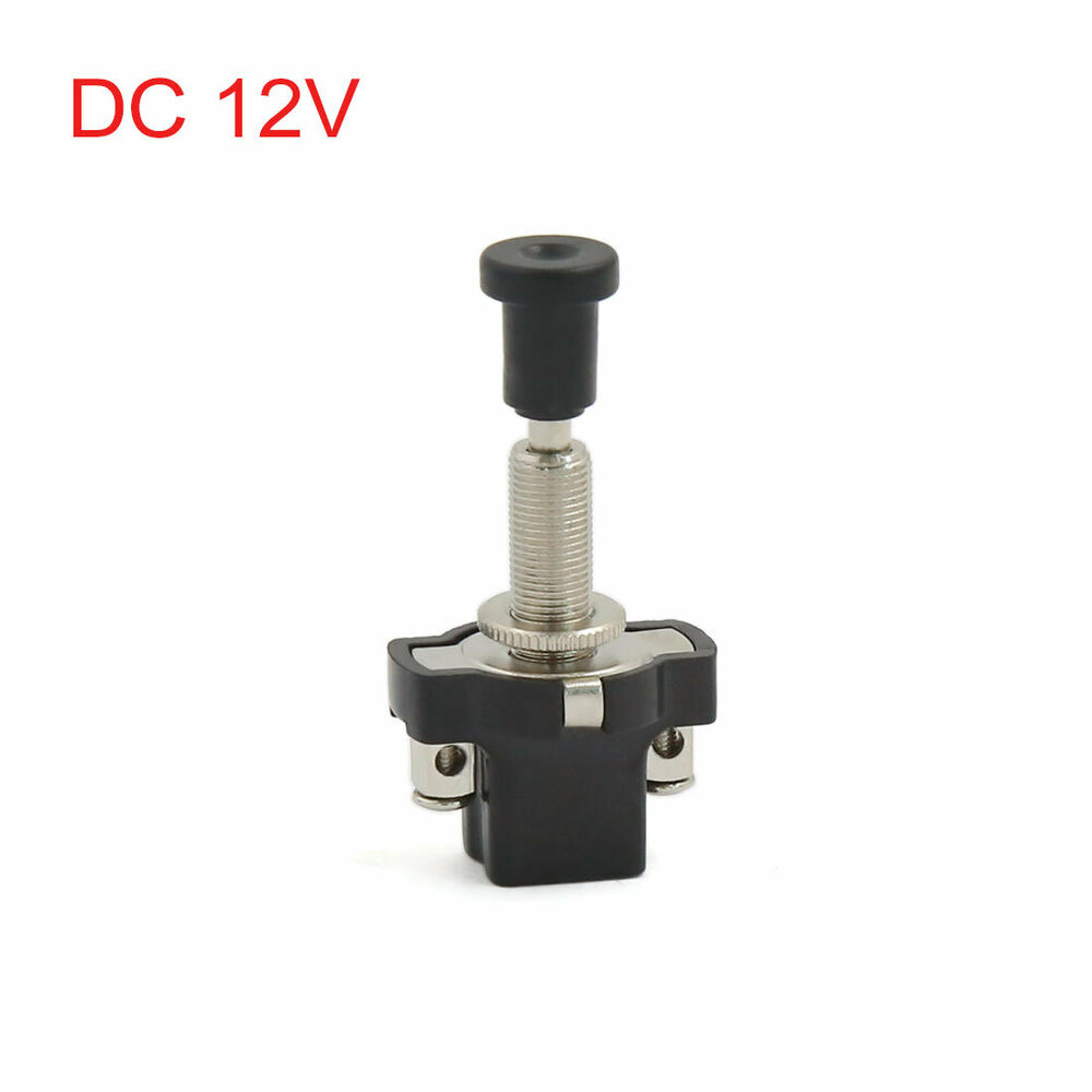 8mm thread mount electrical vehicle auto car on off push. Black Bedroom Furniture Sets. Home Design Ideas