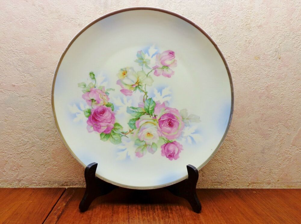 Vintage Three Crown Germany Hp Porcelain 12 Quot Charger Plate
